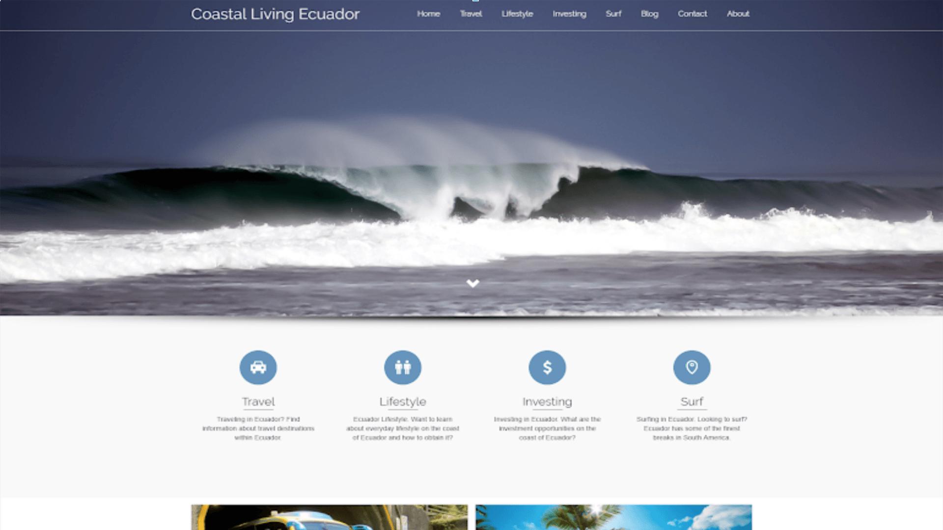 CASE STUDY: Coastal Living Ecuador 5