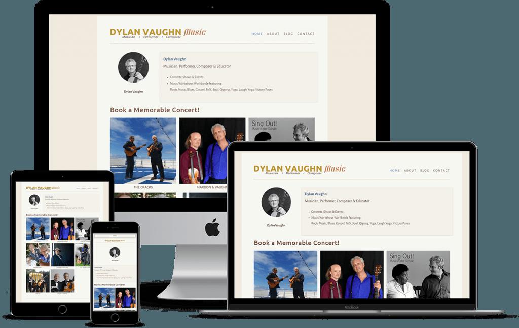 CASE STUDY:  Dylan Vaughn Music 2