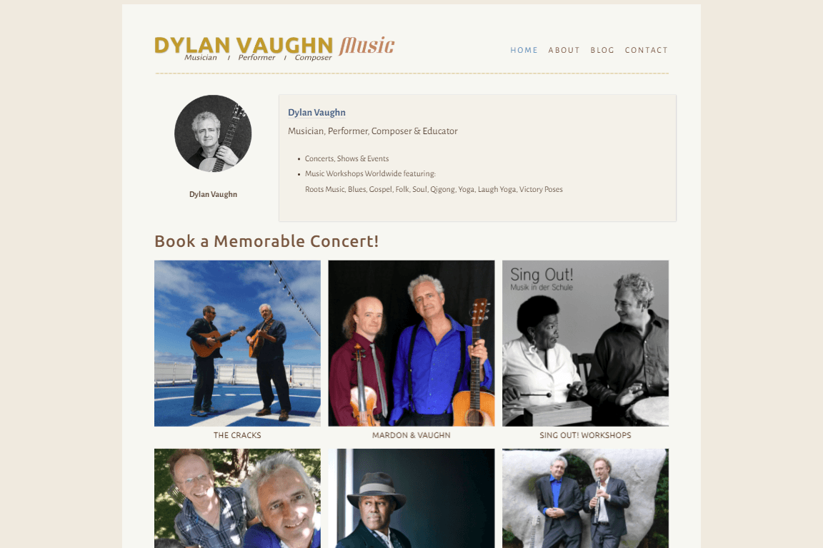 CASE STUDY:  Dylan Vaughn Music 4