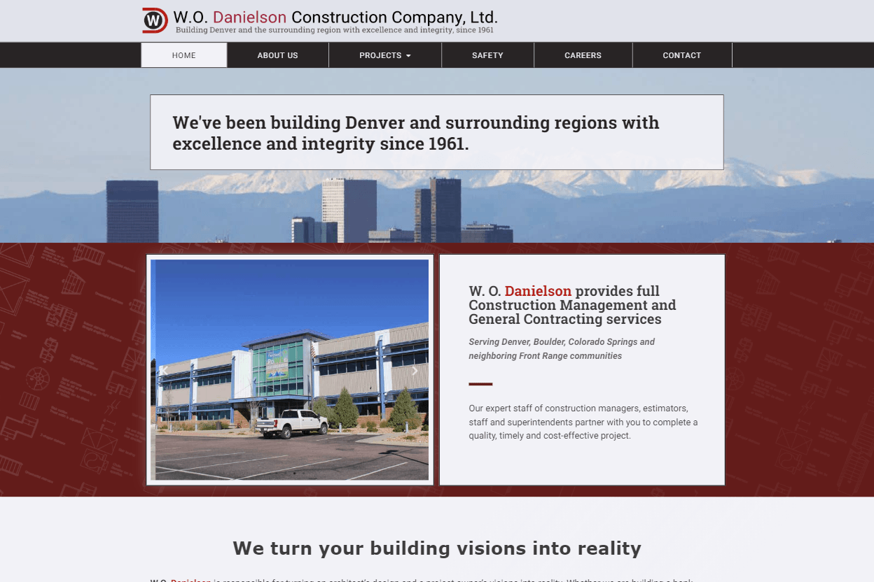 CASE STUDY:  W.O. Danielson Construction Company Ltd. 4