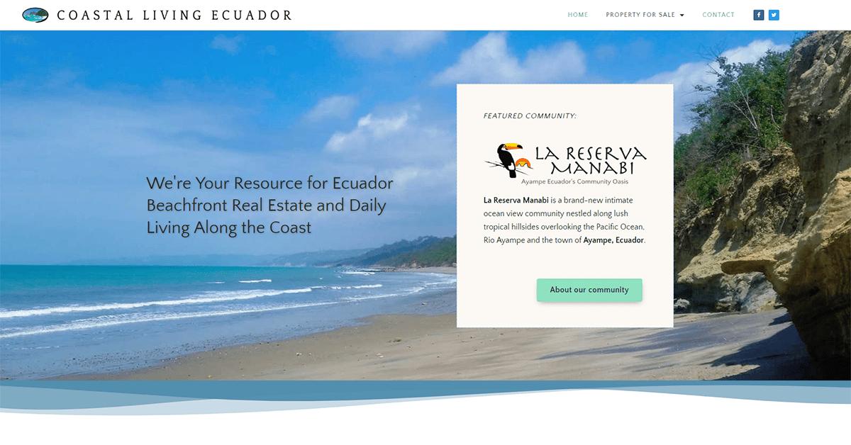CASE STUDY: Coastal Living Ecuador 1