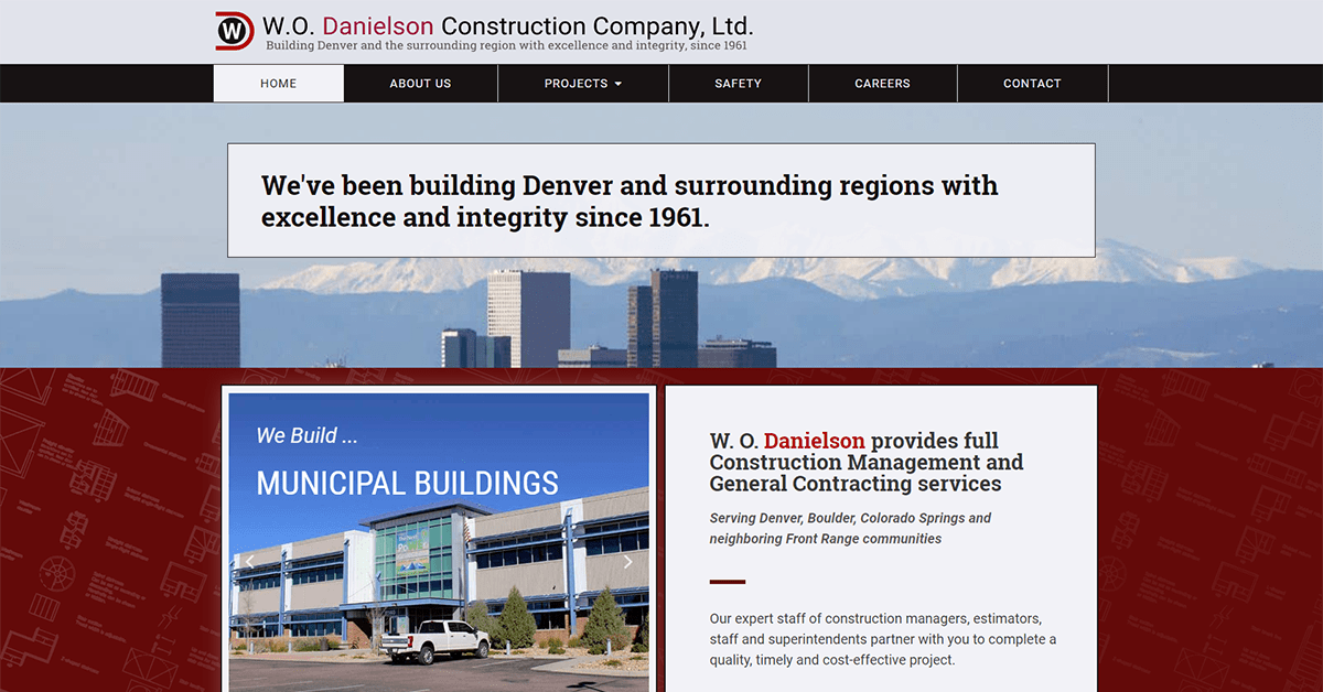 CASE STUDY:  W.O. Danielson Construction Company Ltd. 1